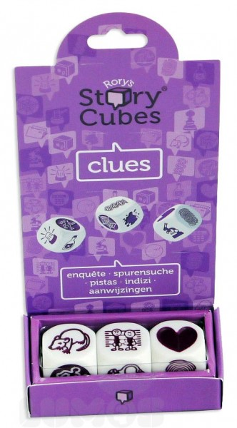 Rory's Story Cubes Mix: Spurensuche